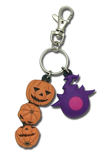 Soul Eater Blair's Pumpkins & Kishin Keychain, an officially licensed product in our Soul Eater Key Chains department.