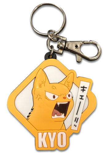 Fruits Basket 2019 - Kyo Pvc Keychain, an officially licensed product in our Fruits Basket Key Chains department.