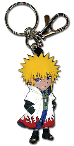 Naruto Shippuden 4Th Hokage Pvc Keychain, an officially licensed product in our Naruto Shippuden Key Chains department.
