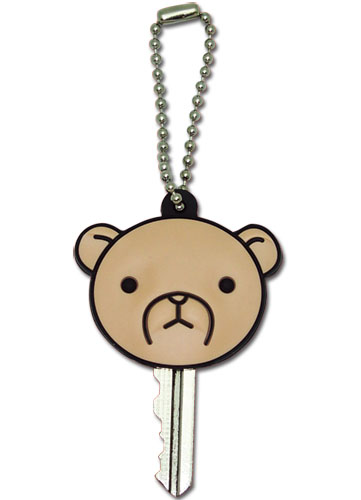 Junjo Romantica Bear Key Cap Keychain, an officially licensed product in our Junjo Romantica Key Chains department.