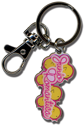 Junjo Romantica Chicks And Logo Keychain, an officially licensed product in our Junjo Romantica Key Chains department.
