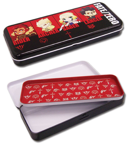 Fate/Zero Tin Pencil Case, an officially licensed Fate/Zero product at B.A. Toys.