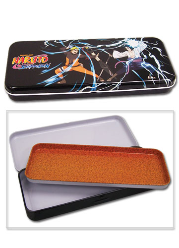 Naruto Shippuden Naruto Vs Sasuke Tin Pencil Case, an officially licensed product in our Naruto Shippuden Pencil Cases department.