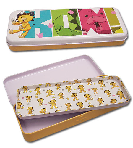 Bleach Kon Tin Pencil Case officially licensed Bleach Pencil Cases product at B.A. Toys.