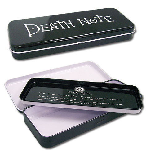 Death Note Death Note Tin Pencil Case, an officially licensed product in our Death Note Pencil Cases department.