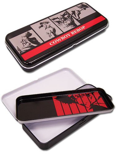 Cowboy Bebop Tin Pencil Case, an officially licensed Cowboy Bebop Pencil Case