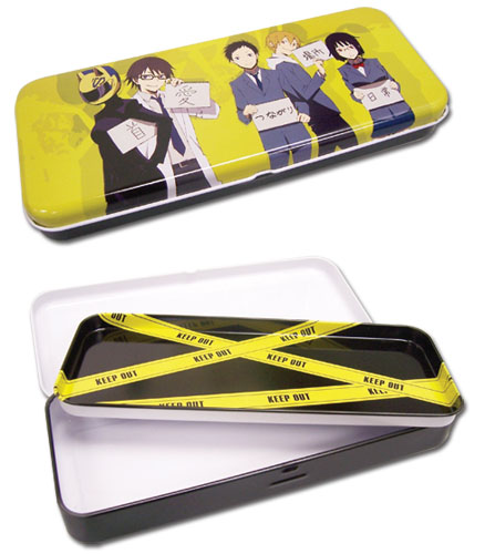 Durarara!! Durarara Tin Pencil Case, an officially licensed Durarara Pencil Case
