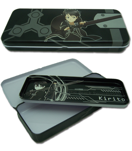 Sword Art Online Kirito Pencil Case, an officially licensed product in our Sword Art Online Pencil Cases department.