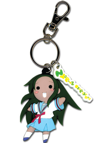 Haruhi-Chan/ Churuya-San Churuya San Pvc Key Chain, an officially licensed product in our Haruhi Key Chains department.