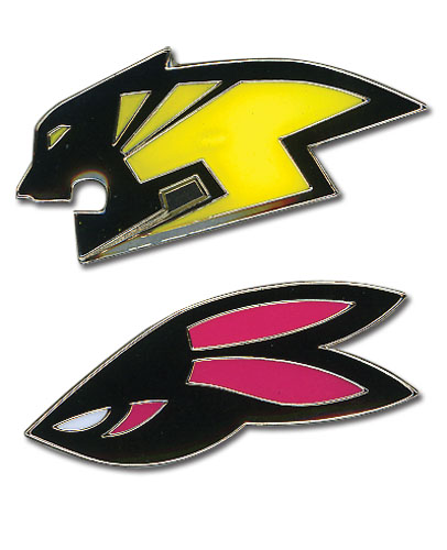 Tiger & Bunny Wild Tiger & Bunny Pinset officially licensed Tiger & Bunny Pins & Badges product at B.A. Toys.