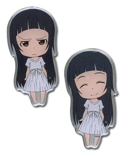 Sword Art Online Happy & Angry Yui Pinset officially licensed Sword Art Online Pins & Badges product at B.A. Toys.