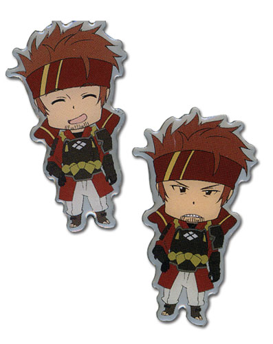 Sword Art Online Happy & Angry Klein Pinset officially licensed Sword Art Online Pins & Badges product at B.A. Toys.