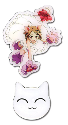 Accel World Chiyuri Catgirl & Cat Pinset, an officially licensed product in our Accel World Pins & Badges department.