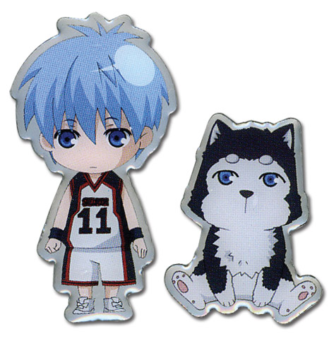 Kuroko's Basketball - Kuroko And Tetsuya #2 Metal Pin, an officially licensed product in our Kuroko'S Basketball Pins & Badges department.