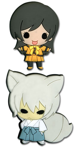 Kamisama Kiss - Sd Tomoe & Nanami Pvc Pins officially licensed Kamisama Kiss Pins & Badges product at B.A. Toys.