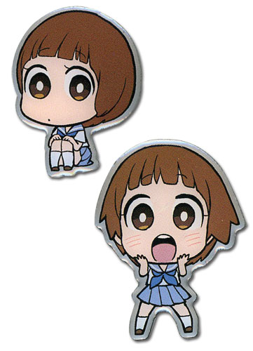 Kill La Kill Sd Mako Metal Pinset officially licensed Kill La Kill Pins & Badges product at B.A. Toys.