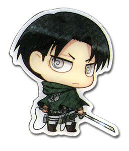Attack On Titan - Sd Levi Pin, an officially licensed Attack On Titan product at B.A. Toys.