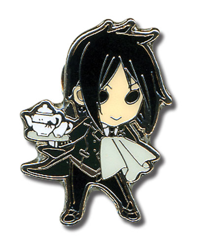 Black Butler - Sd Sebastian Pin officially licensed Black Butler Pins & Badges product at B.A. Toys.