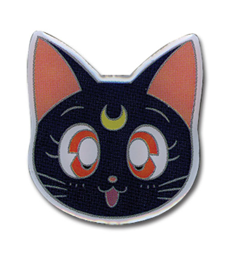 Sailor Moon - Luna Pin officially licensed Sailor Moon Pins & Badges product at B.A. Toys.