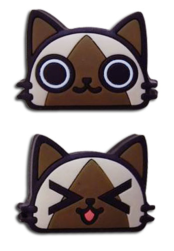 Monster Hunter - Airou Pvc Pin officially licensed Monster Hunter Pins & Badges product at B.A. Toys.
