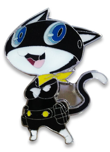 Persona 5 - Morgana Pin officially licensed Persona Pins & Badges product at B.A. Toys.