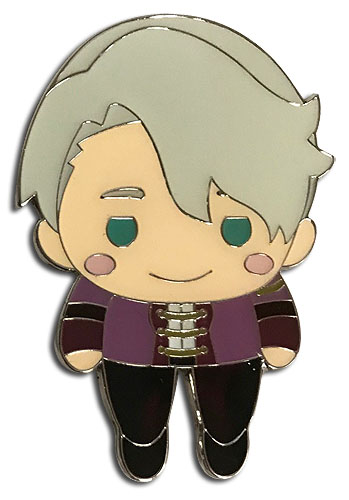 Yuri On Ice!!! - Sd Pinched Victor Pin officially licensed Yuri!!! On Ice Pins & Badges product at B.A. Toys.