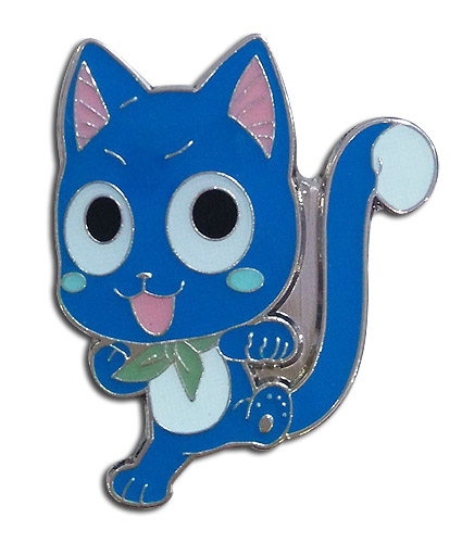 Fairy Tail - Sd Happy Enamel Pin, an officially licensed product in our Fairy Tail Pins & Badges department.