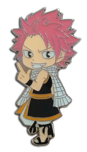 Fairy Tail - Sd Natsu Enamel Pin officially licensed Fairy Tail Pins & Badges product at B.A. Toys.