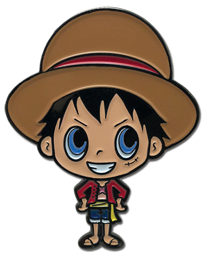 One Piece - G-friends Luffy Enamel Pin officially licensed One Piece Pins & Badges product at B.A. Toys.