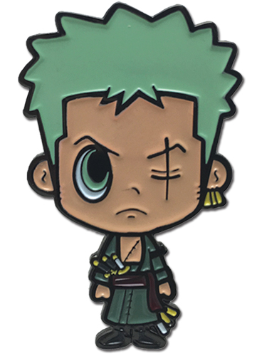 One Piece - G-friends Zoro Enamel Pins officially licensed One Piece Pins & Badges product at B.A. Toys.