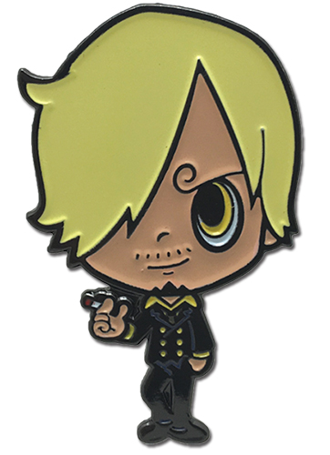 One Piece - G-friends Sanji Enamel Pin officially licensed One Piece Pins & Badges product at B.A. Toys.