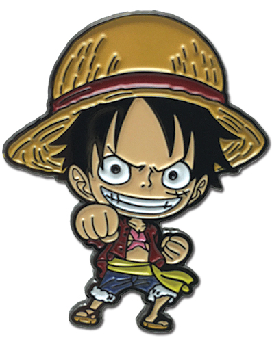 One Piece - Fish Man Island Sd Luffy Enamel Pin, an officially licensed product in our One Piece Pins & Badges department.