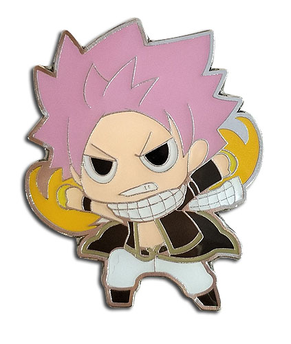 Fairy Tail - Sd Natsu Pin officially licensed Fairy Tail Pins & Badges product at B.A. Toys.