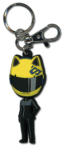 Durarara!! Celty Sd Pvc Keychain, an officially licensed Durarara!! product at B.A. Toys.