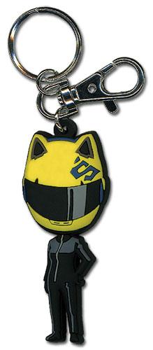 Durarara!! Celty Sd Pvc Keychain, an officially licensed Durarara Key Chain