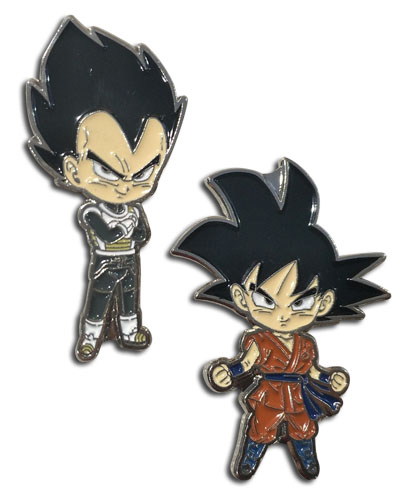 Dragon Ball Super - Goku & Vegeta Enamel Pins officially licensed Dragon Ball Super Pins & Badges product at B.A. Toys.