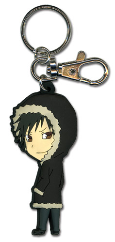 Durarara!! Izaya Sd Pvc Keychain, an officially licensed Durarara!! product at B.A. Toys.