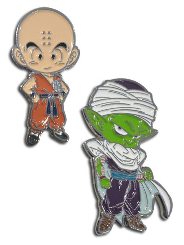 Dragon Ball Super - Krillin & Piccolo Enamel Pins officially licensed Dragon Ball Super Pins & Badges product at B.A. Toys.