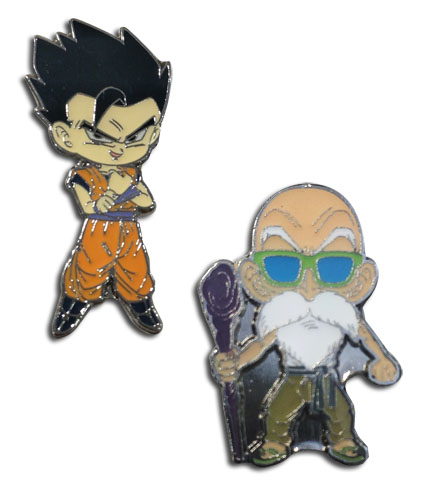 Dragon Ball Super - Kamessenin And Gohan Enamel Pins officially licensed Dragon Ball Super Pins & Badges product at B.A. Toys.