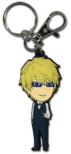 Durarara!! Shizuo Sd Pvc Keychain, an officially licensed Durarara Key Chain