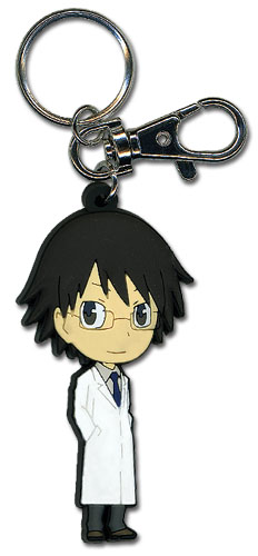Durarara!! Shinra Sd Pvc Keychain, an officially licensed product in our Durarara!! Key Chains department.
