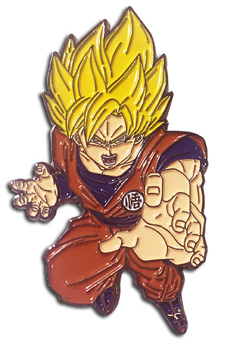 Dragon Ball Super - Ss Goku Pin officially licensed Dragon Ball Super Pins & Badges product at B.A. Toys.