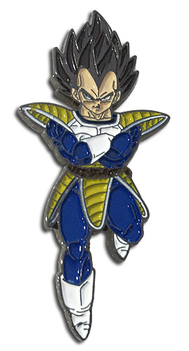Dragon Ball Z - Vegeta Pin, an officially licensed product in our Dragon Ball Z Pins & Badges department.