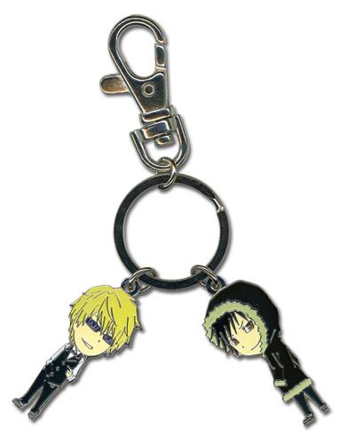 Durarara!! Izaya Shizuo Sd Keychain, an officially licensed Durarara Key Chain