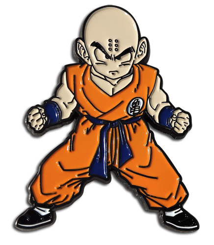 Dragon Ball Z - Krillin 2'' Pin, an officially licensed product in our Dragon Ball Z Pins & Badges department.
