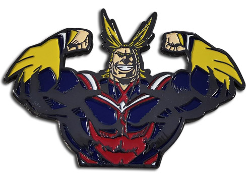 My Hero Academia - All Might 2'' Pin officially licensed My Hero Academia Pins & Badges product at B.A. Toys.