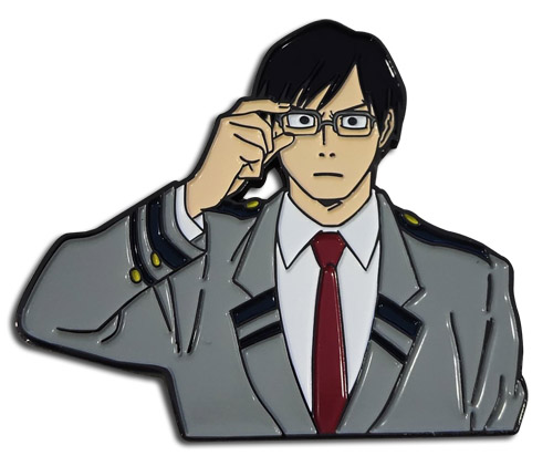 My Hero Academia - Iida Enamel Pin 2'' officially licensed My Hero Academia Pins & Badges product at B.A. Toys.