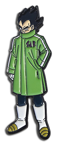 Dragon Ball Super Broly - Vegeta Sab Jacket Pin, an officially licensed product in our Dragon Ball Super Broly Pins & Badges department.