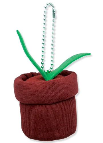 Sekirei Kusano's Plant Plush Keychain, an officially licensed product in our Sekirei Key Chains department.