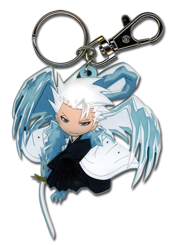 Bleach Hitsugaya Sd Pvc Key Chain, an officially licensed product in our Bleach Key Chains department.